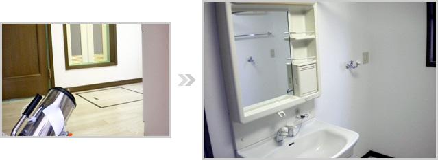 個人宅への光触媒の施工